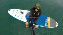 OEM welcome durable inflatable sup paddle transparent surfboard