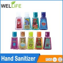 Wholesale 1OZ 30ml private label antibacterial instant bath body works bulk hand sanitizer gel for hand wash sanitizer