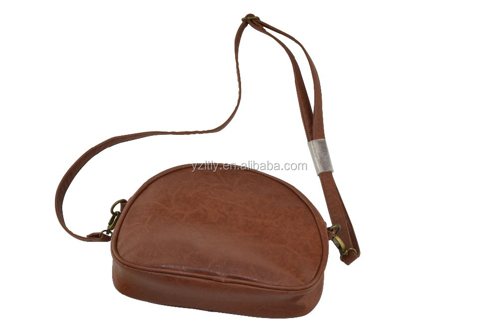Single strap low price pu shoulder bag
