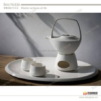 made in japan coffee set self heating with warmer and candle made in china factory directely