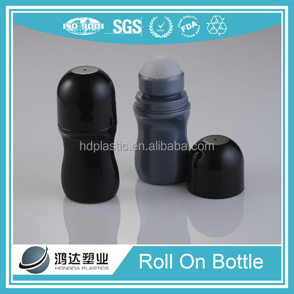 Plastic perfume essential oil roll on bottle for India market 50ml