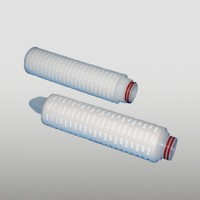 High Quality Custom pp membrane pleated filter cartridge for wastewater