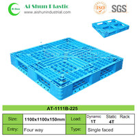 No.225 1100x1100x150mm Cross deck stackable stock plastic pallet