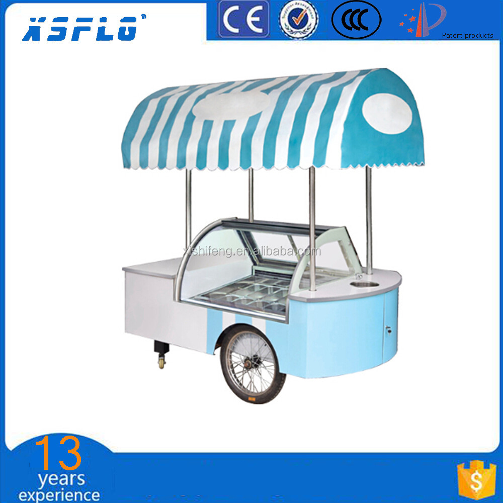 gelato cart ice cream cart outdoor