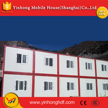 Drain Rain Smoothly Roof Temporary House Prefabricated Container