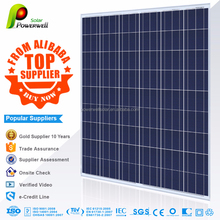 Powerwell Solar 230W Poly With CE/ISO/TUV/IEC/INMETRO Approval Standard Top Solar panel manufacturers in China