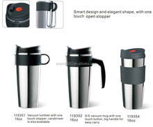 Everich best stainless steel travel mug with handle