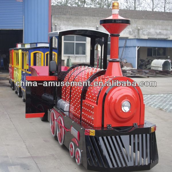 kids games park shopping mall ride amusement outdoor lighted train christmas