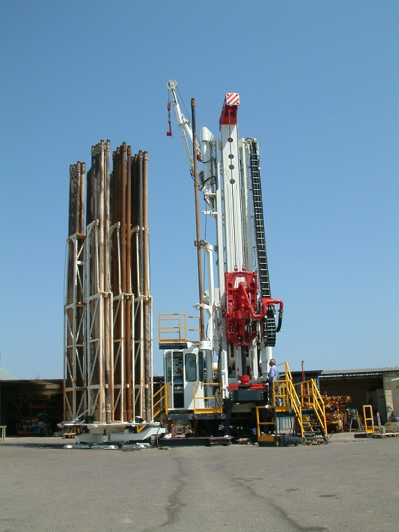 Drillmec G55 water well drilling rig