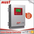 factory sale pc1600f model 45a/60a high efficiency solar charge controller