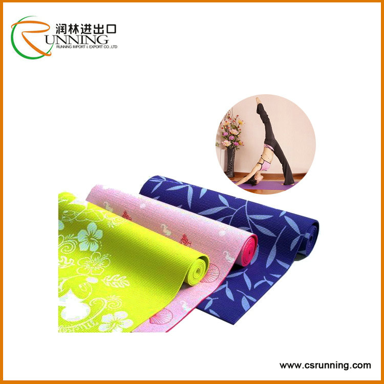 Best Quality PVC Yoga Mat, 6P free Yoga Mat Made in China,Foldable Eco-friendly Mat