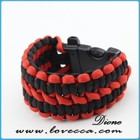 how to make parachute cord bracelets