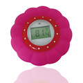 BPA FREE Waterproof Floating pink baby bath thermometer