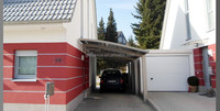 Aluminum Frame Material and Garages, Canopies & Carports Type Car Garage Shelter