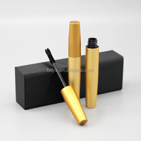 Eyelash extension mascara coating