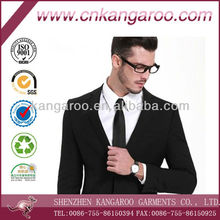 High quality slim blazer with two buttons, formal suits for men