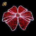 Christmas decorative bigt Red LED light up bow