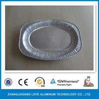 Household Hot Sale High Quality Recyclable Environmental Disposable Silver Plated Tray Sliver Tray