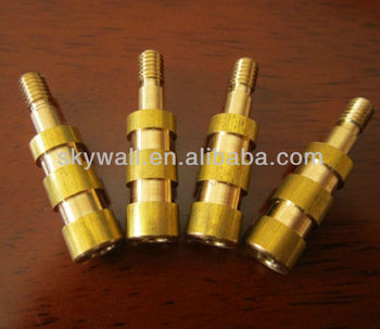 High precision durable brass CNC part with turning service