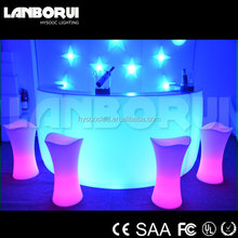 LED dry bars, glow bar furniture, color changing led dry bars