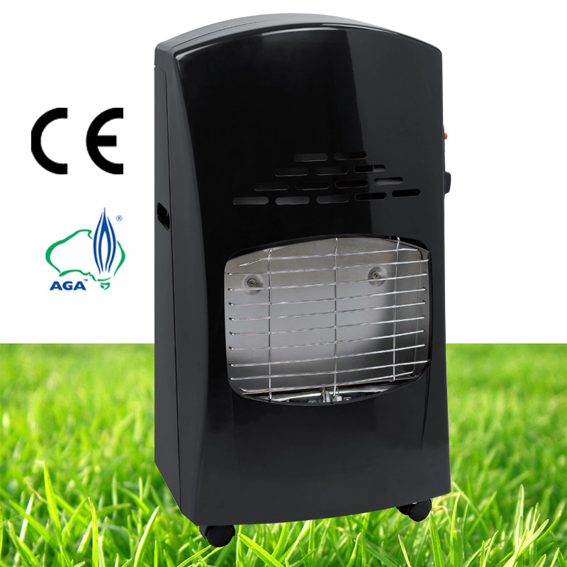 Safety indoor and outdoor direct vent gas wall heater