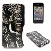 Colored drawing TPU case for iPhone 4s,for iPhone 4s soft TPU gel case cover