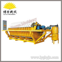 Automatic hydraulic plate and frame filter press for metallurgy, food oil, ceramic industry