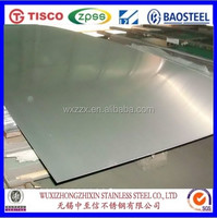 China factory professional supply 201/304/316 2B Surface Stainless Steel Metal Plate/Sheet