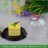 High quality dome clear plastic cake box packaging