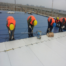 1.5mm reinforced impervious PVC roof garden waterproofing membrane