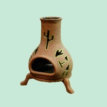 wholesale handmade teracotta mini outdoor fireplace