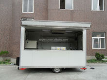 Yieson High Quality concession stand fast food car for sale hot dog vending carts YS-FV350
