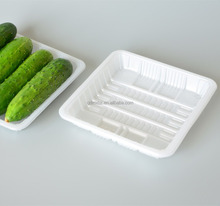 Fruit Use Wholesale Disposable Plastic Vegetable box Packaging and lid