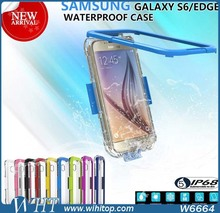 2015 Waterproof Phone Case, For Samsung Galaxy S6 Waterproof Case