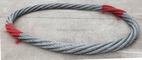 Endless wire rope lifting sling for crane