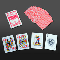 Energy Saving washable 100% plastic pokerstars playing cards poker for great race