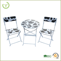 2014 Metal furniture outdoor bistro set cheap Chinese furniture