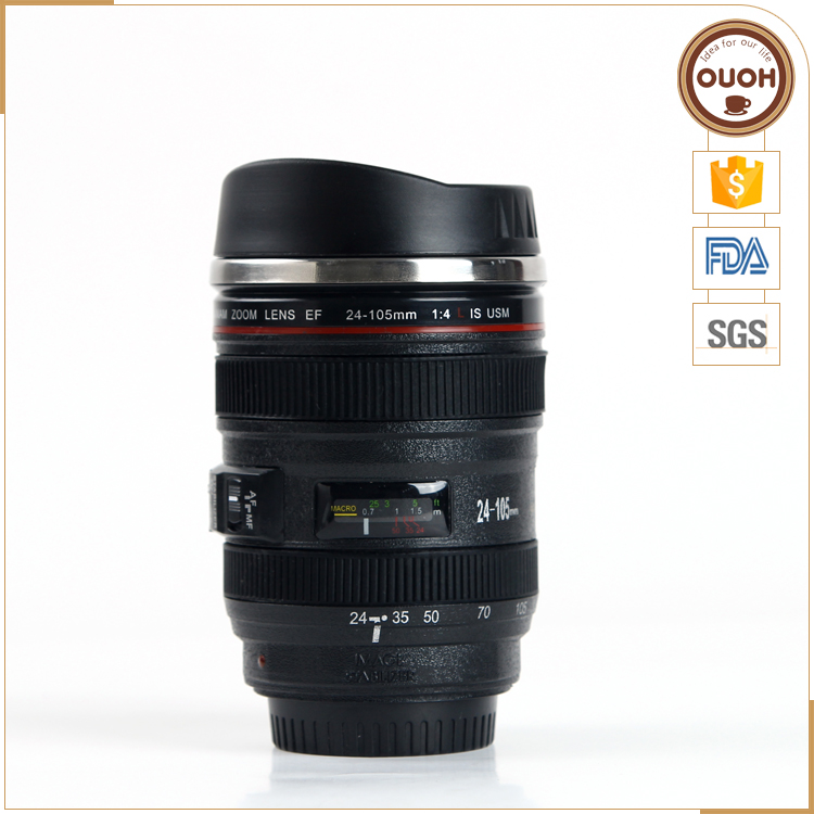 Factory wholesale canon 24-105 camera lens coffee cups
