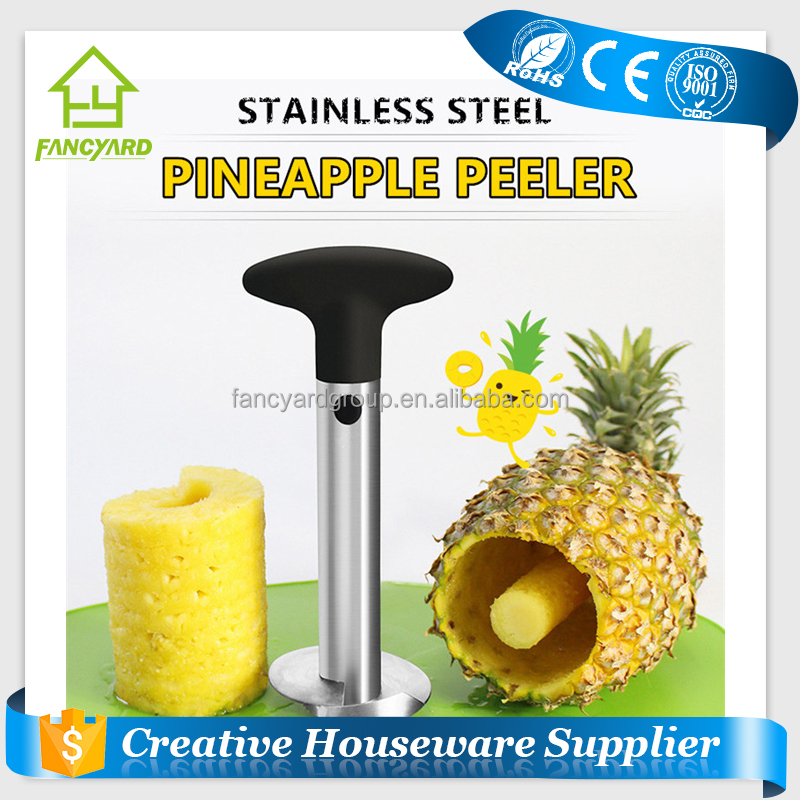 FY5137 High Quality Cheap Price Stainless Steel Pineapple Corer Slicer