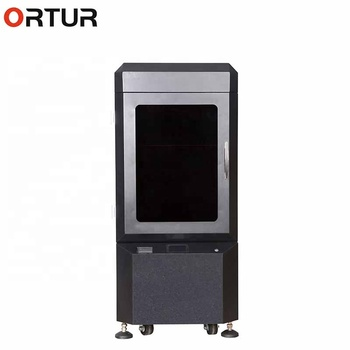 High Grade Enclosure Industrial FDM 3D Printer Dual Extruders Head 3D Printers Resume Print Filament End Sensor impresora 3d