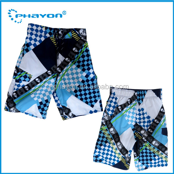 <OEM Service>Surf Board Shorts Men Quick Drying Summer Style Solid Polyester Brand Clothing Board