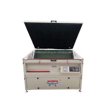 Automatic Grade and Screen Printer vacuum Plate Type exposure machine for sale