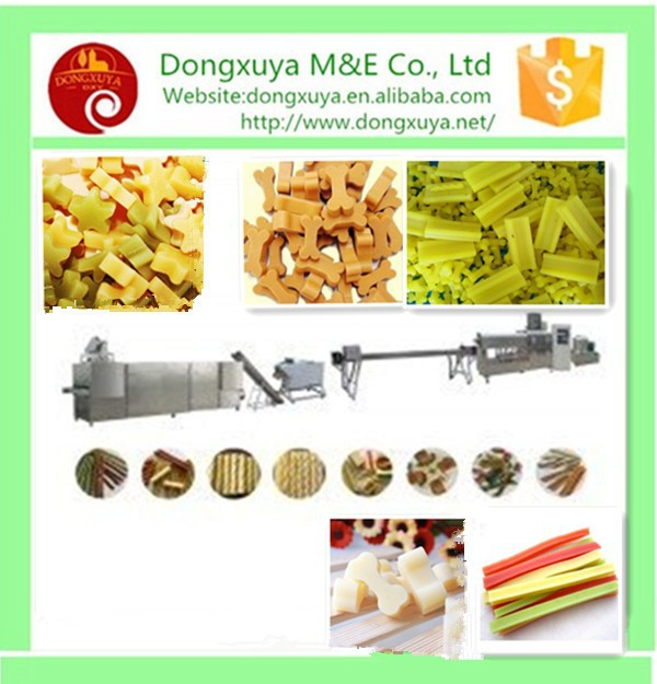New Type Chewing pet food production line/dog chewing machine