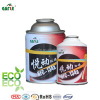13.4kg refrigerant gas r134a in disposable cylinder