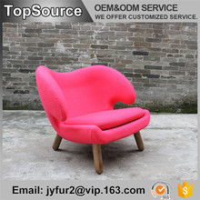 Home Designer Simple Fabric Dining Chair Furniture Modern