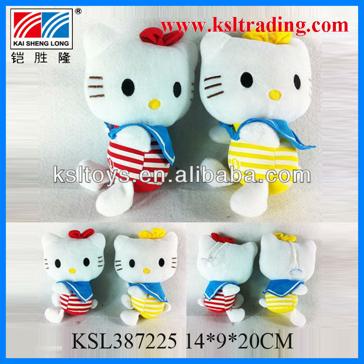 plush toys non-toxic cute cat baby soft toys