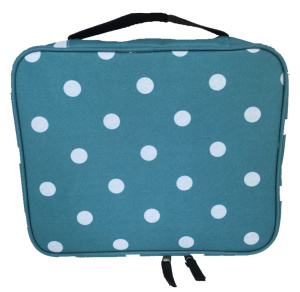 China Supplier Wholesale New 2016 Fashion Polka Dots Ladies Pouch Bag For Cosmetics