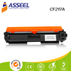 2017 hot-selling compatible toner cartridge CF217A 17A for HP LaserJet Pro M102a