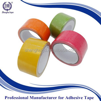 cheap price single sided adhesive reinforced cloth duct tape