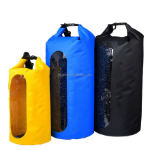 Top Quality Outdoor Use PVC Tarpaulin Dry Sack Hiking Camping Waterproof Dry Bag